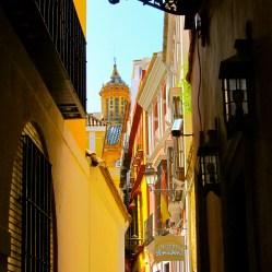 Yellow Alleyway Seville - TN