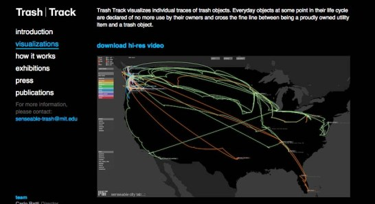 The Removal Chain from MIT Trash Track project