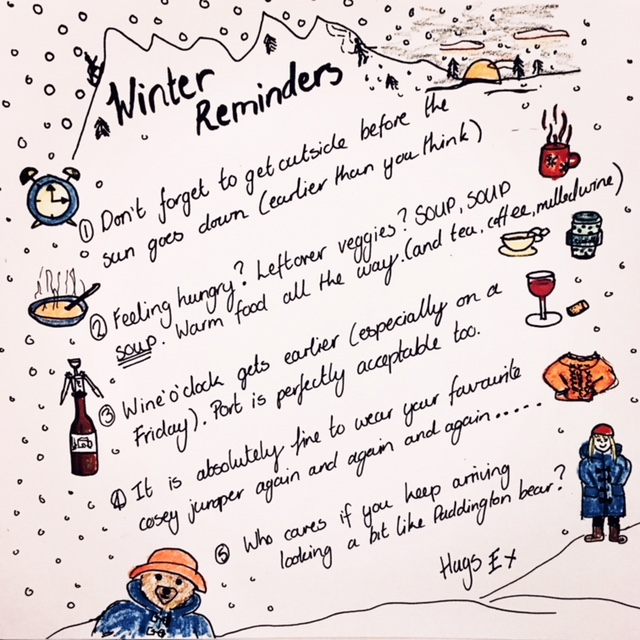 Winder Reminders list