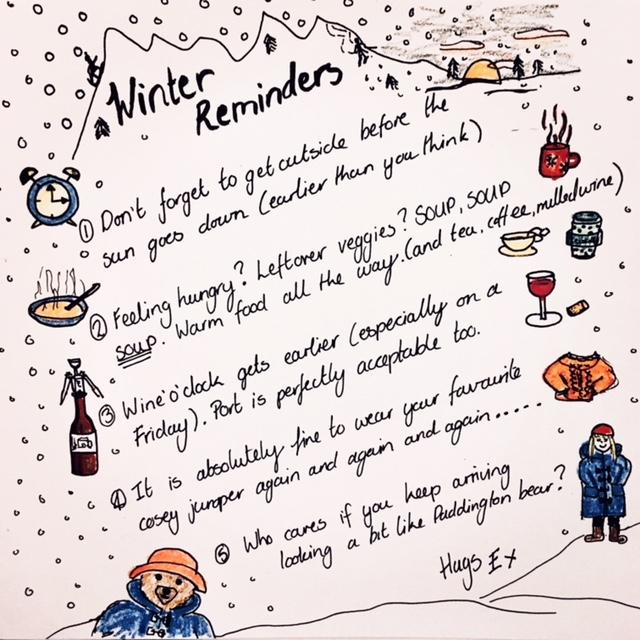 Winder Reminders list