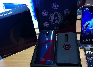 Oppo F11 Pro Marvel's Avengers edition