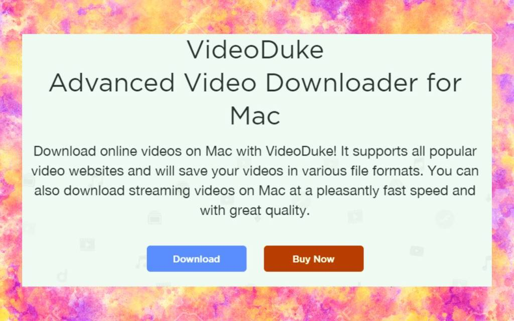 Download YouTube videos on iMac