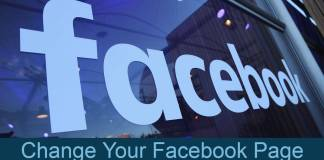 Change Your Facebook Page Name