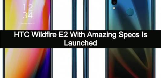HTC Wildfire E2