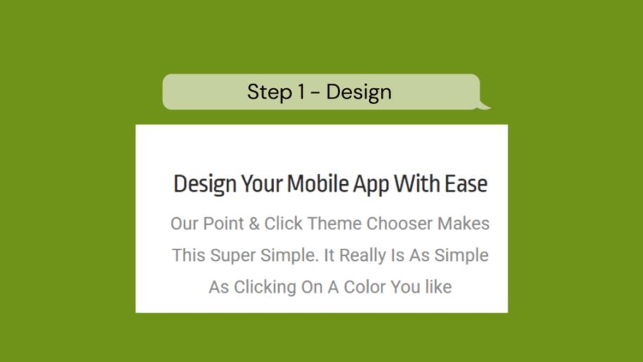 Step 1 - Design