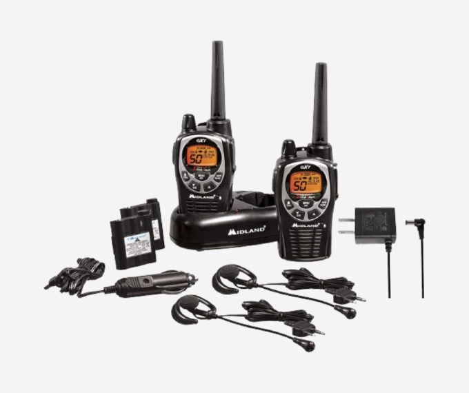 Long-range walkie talkies 200 miles