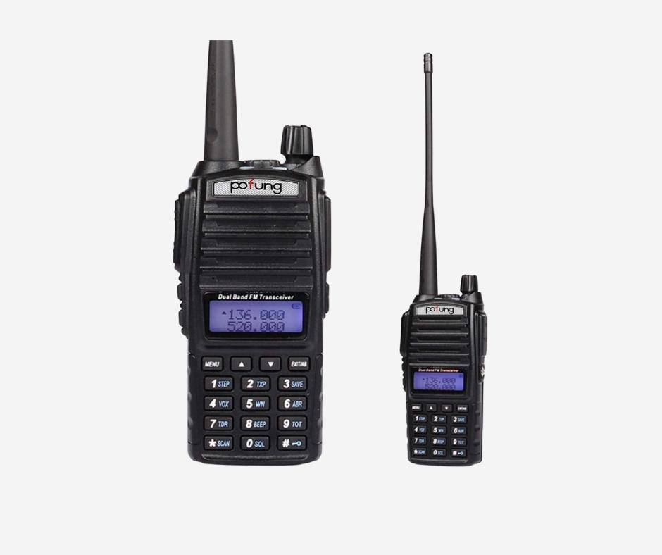 BAOFENG UV-5R DUAL-BAND TWO WAY RADIO 1