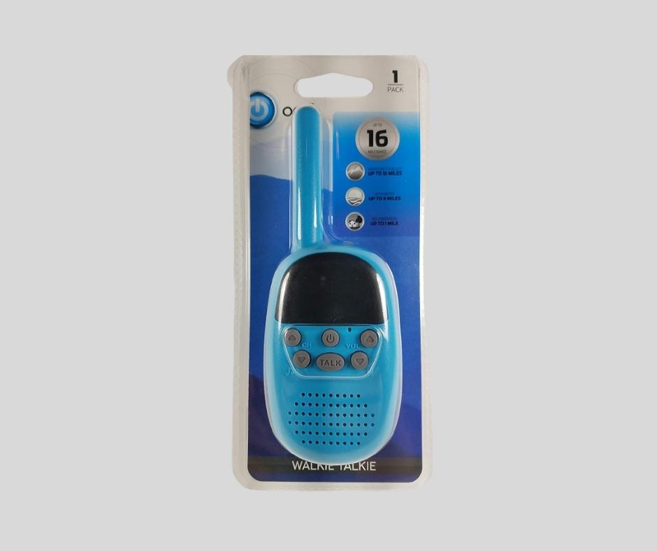 ONN Walkie Talkie (Blue)
