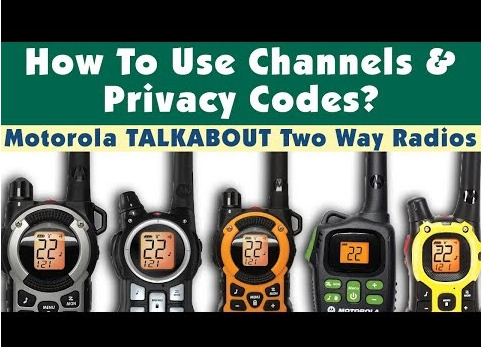 Motorola Talkabout two way Radio