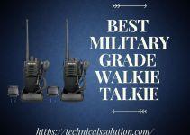 Best Military Grade Walkie Talkie