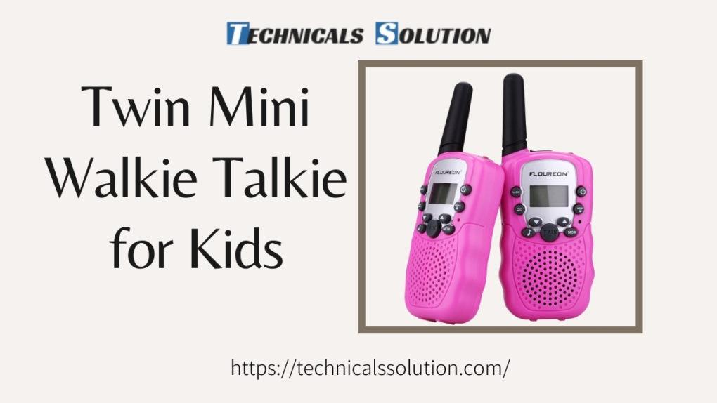 Best Mini Walkie Talkie