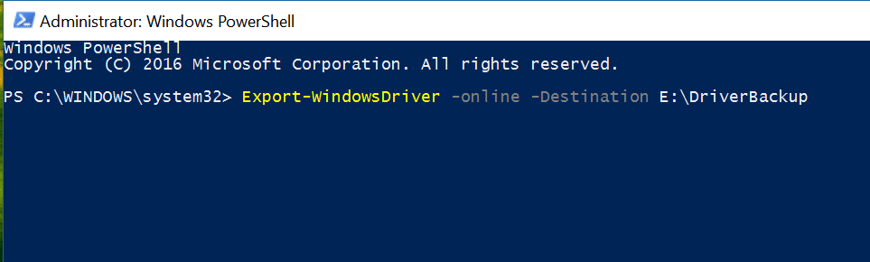 Top 10 Powershell windows 10 commands