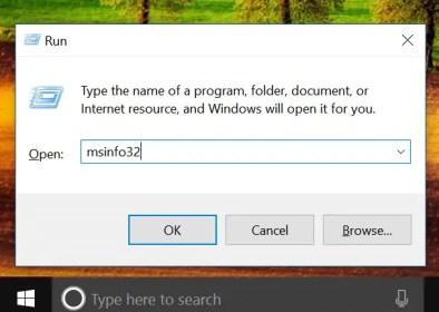 check Windows 10 runs in UEFI or Legacy Mode