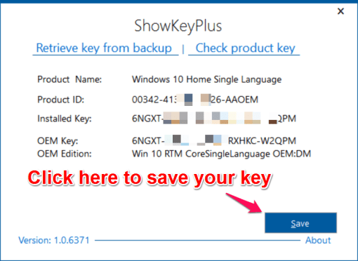 Remove Windows 10 product key from Registry