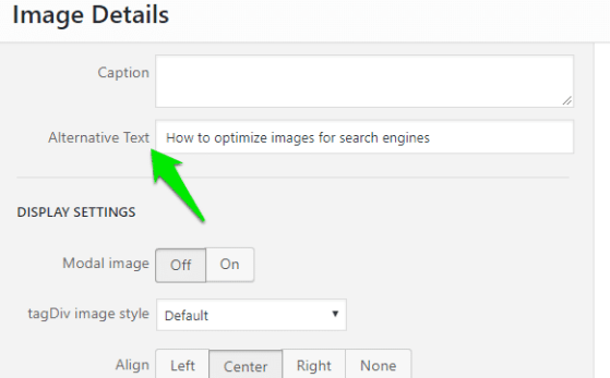 How to optimize images for search engines
