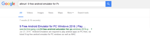Advanced google search tricks