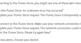 iPhone cannot connected to iTunes
