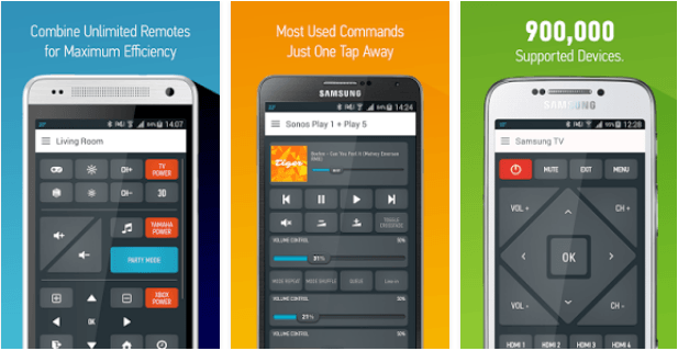 Universal Smart Remote Control apps for TV