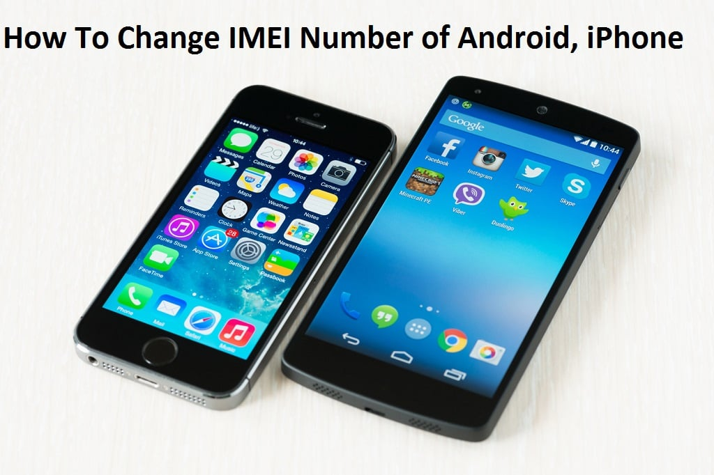 How to change IMEI number android and iphone tricks