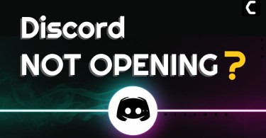 Discord not opening