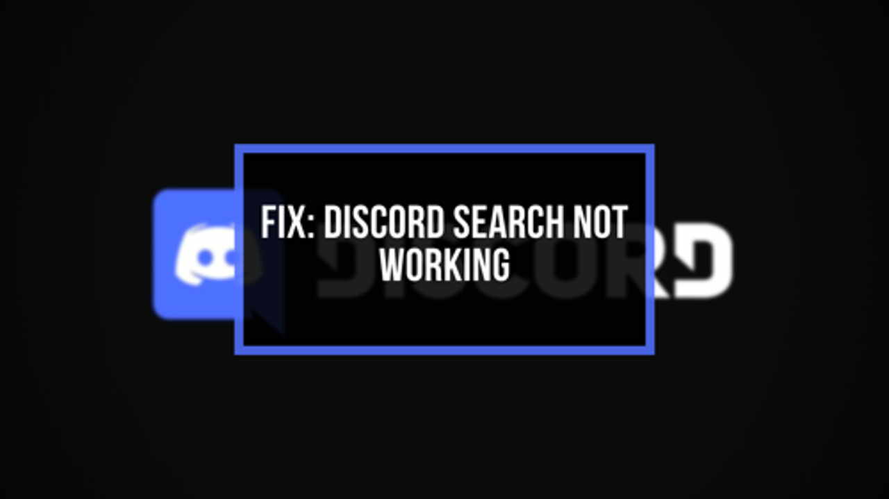 Is your Discord search not working?