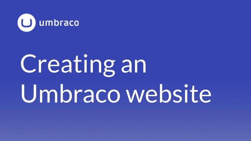 5 Benefits of using Umbraco for web design