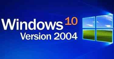 error while upgrading to Windows 10 2004