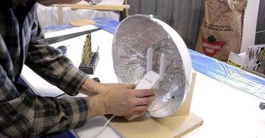 enhance the WIFI signal with Aluminum foil