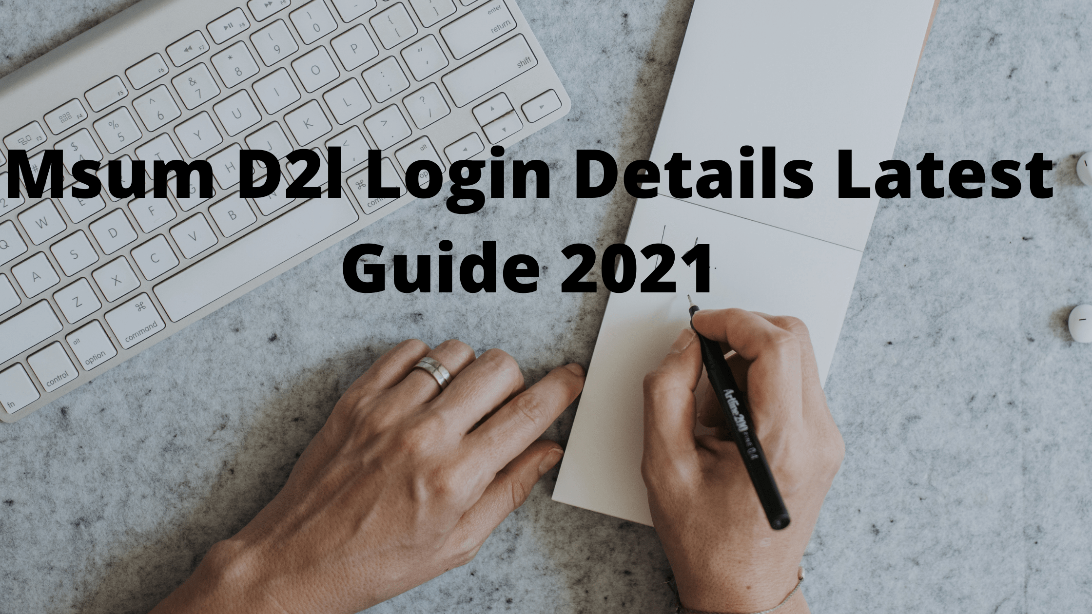 Here Are the Msum D2l Login Details