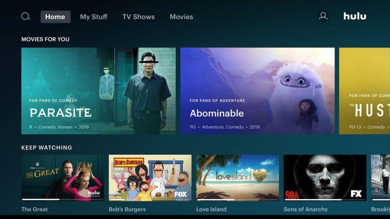 Hulu Watch History