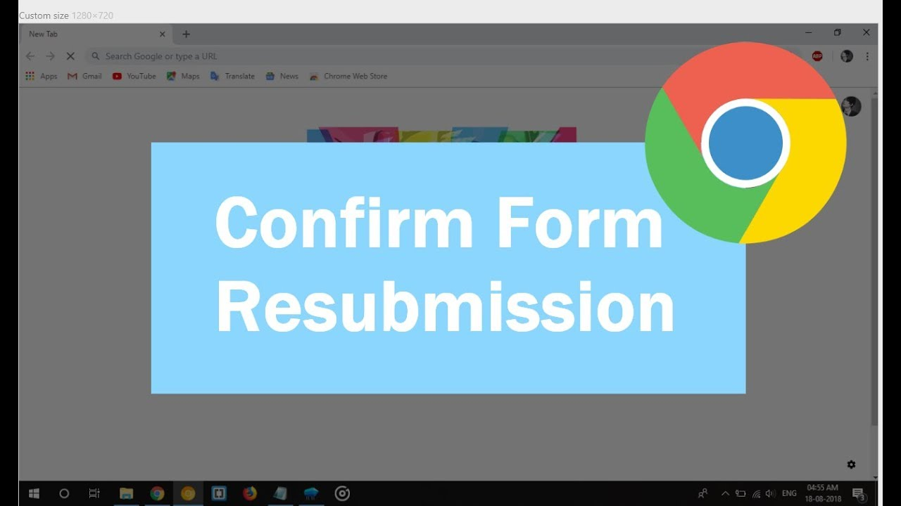 Confirm Form Resubmission (err_cache_miss) Error Solved in Chrome