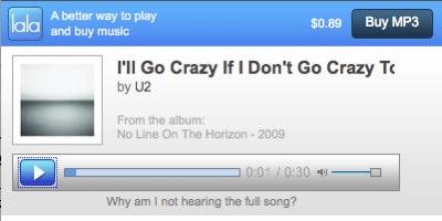 Google Music Screenshot