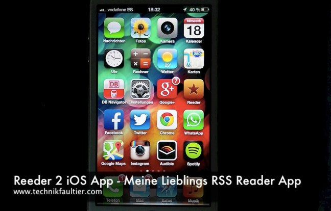 Reeder 2 iOS App
