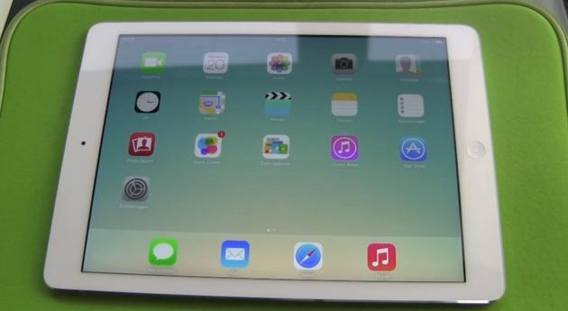 Apple iPad Air Austausch nach Displayfehler