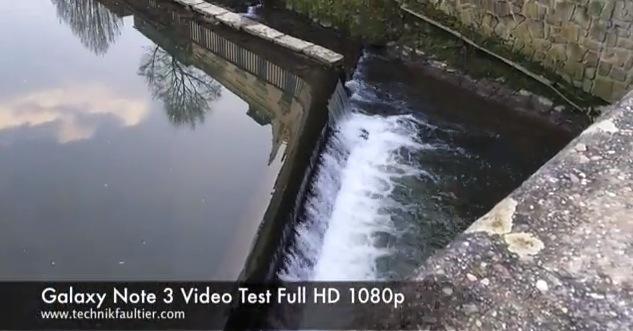 Galaxy Note 3 Video Test Full HD 1080p