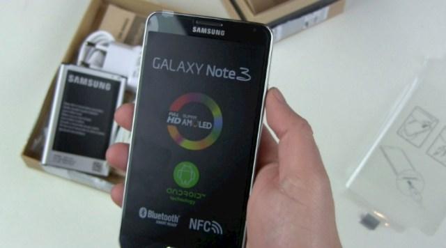 Samsung Galaxy Note 3 Unboxing und erster Eindruck
