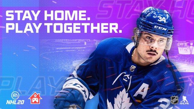 Bannière NHL20 - Stay home - Technique-Hockey