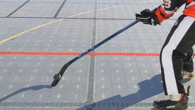 Contrôle rondelle sur la tranche - Soulevé de la rondelle 2 - Coup droit - Technique-Hockey