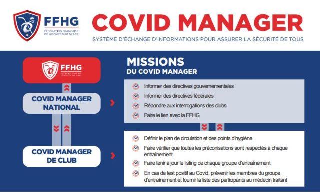 Covid manager FFHG - Férération Française de Hockey sur Glace