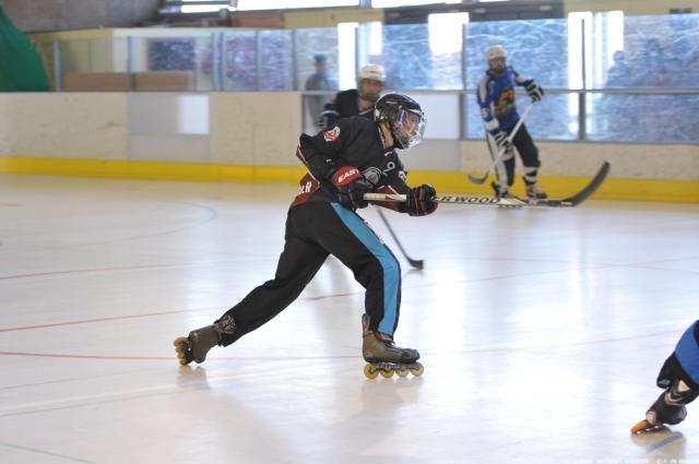 Dorian avec le Seynod Roller Hockey - Technique-Hockey