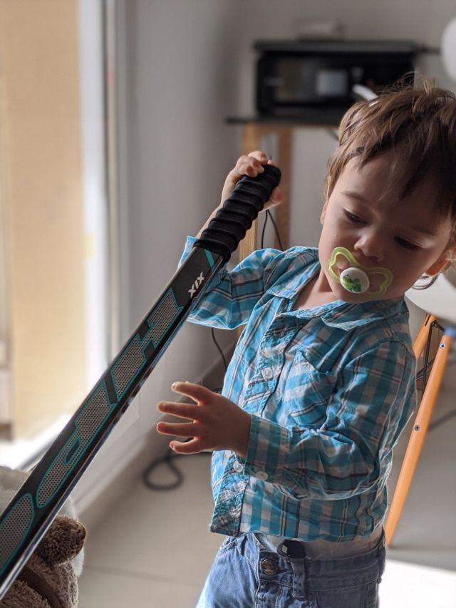 Notre premier enfant et mon baton HPC X1X - Technique-Hockey