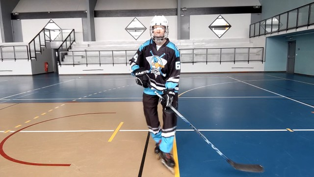 Patiner en croisant les jambes - Décroisement des patins - Technique-Hockey