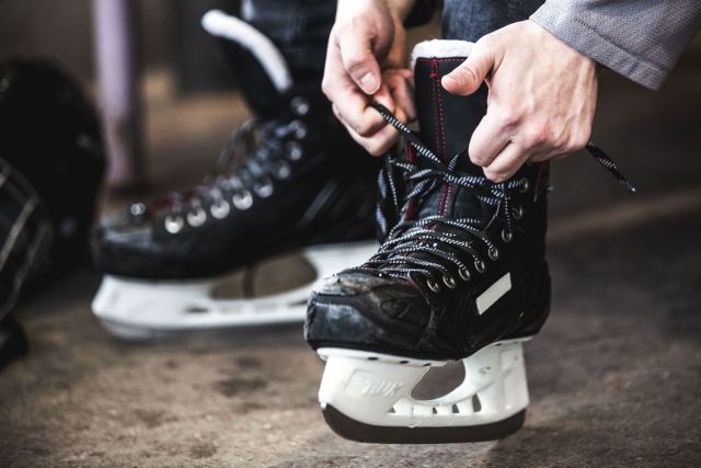 Patins de hockey - Photo de Matthew Henry via Burst