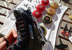 Roller hockey - Remontage des roues