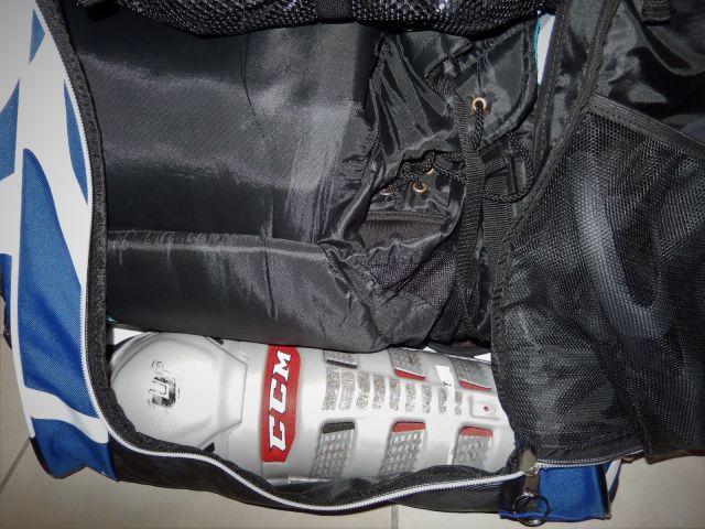 Sac de hockey Grit Tower Bag - Intérieur - Etage culotte, jambieres et plastron