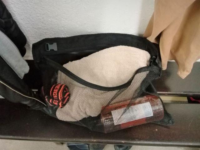 Sac de hockey Grit Tower Bag - Le poche-filet détachable