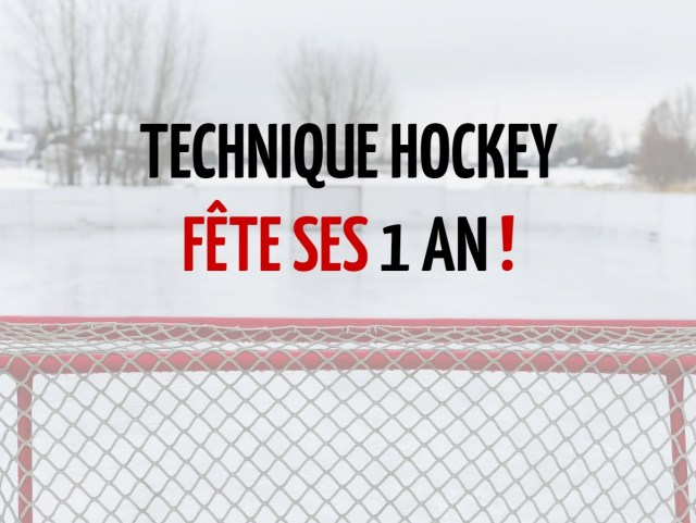 Technique Hockey fête ses 1 an - Photo de Chris Liverani via unsplash (modifiée)