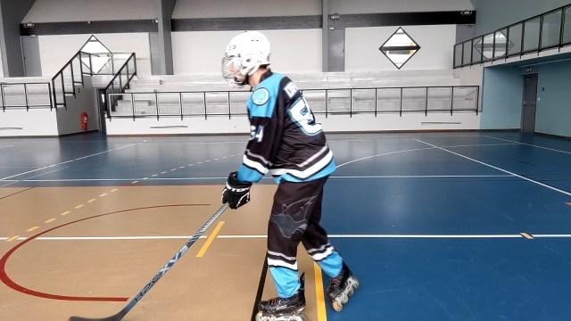 Virage, épaules et tranfert de poids - Réorientation du patin extérieur au virage - Technique-Hockey