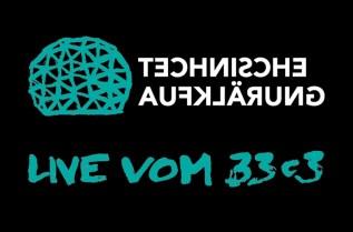 Logo der Technischen Aufklärung im 33c3-Design (von Stella Schiffczyk)