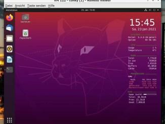 Ubuntu 20.04 Conky installieren